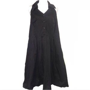 Lane Bryant Plus SizeHalter Neck Sleeveless Dress